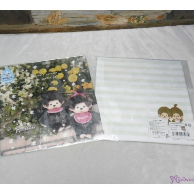 Monchhichi 2-Side Print Baby Handkerchief L Size Style B (Made in Japan) 475674