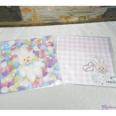 Monchhichi Chimutan Baby Handkerchief L Size Style E (Made in Japan) 475827