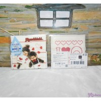 Monchhichi 2-Side Print Baby Handkerchief S Size Style F (Made in Japan) 475995