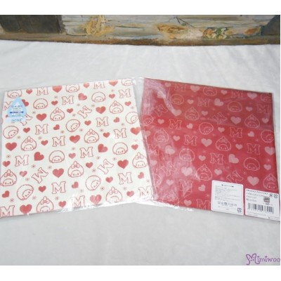 Monchhichi 2-Side Print Baby Handkerchief L Size Style G (Made in Japan) 476022
