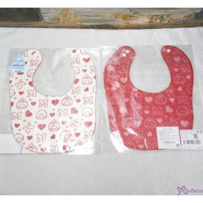 Monchhichi 2-Side Print Baby Bib 23x29cm Style G (Made in Japan) 476053