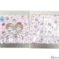Monchhichi 2-Side Print Baby Handkerchief L Size Style N (Made in Japan) 476268