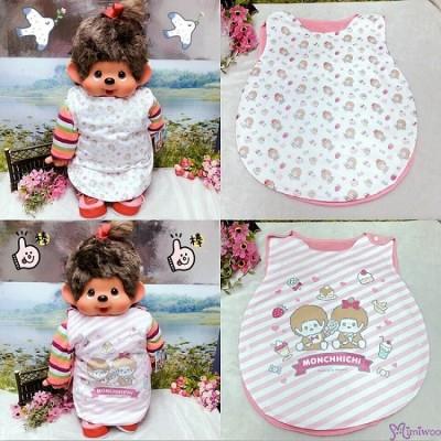 Monchhichi Boy & Girl Baby Large Apron 41x51cm Style N (2pcs) 476329