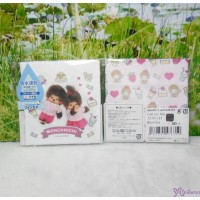 Monchhichi 2-Side Print Baby Handkerchief S Size Style K (Made in Japan) 476350