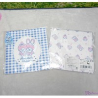 Monchhichi 2-Side Print Baby Handkerchief M Size Style M (Made in Japan) 477043