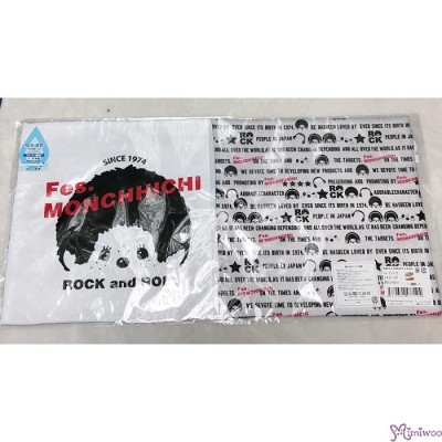 Fes Monchhichi 2-Side Print Baby Handkerchief L Size  (Made in Japan) 477135