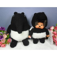 Monchhichi S Size Laimo X MCC Malayan Tapir (Set of 2) ~NEW ARRIVAL~ 648351+648382