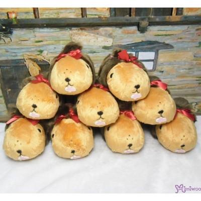Kapibara x Monchhichi 20cm Kapibarasan Animal Plush (Japan Limited) 697939