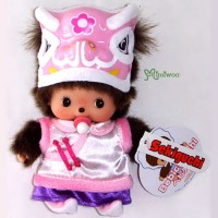 Bebichhichi 15cm Plush Spring Festival Lion Dance GIRL 703040