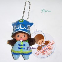 Sekiguchi Monchhichi Bebichhichi Spring Festival Keychain Mascot Boy 703090