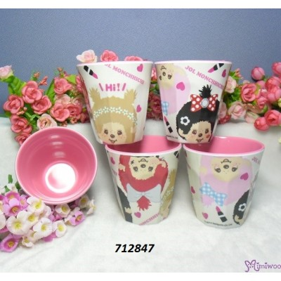 Monchhichi Hot Water Mug Resin Cup JOL Love 712847