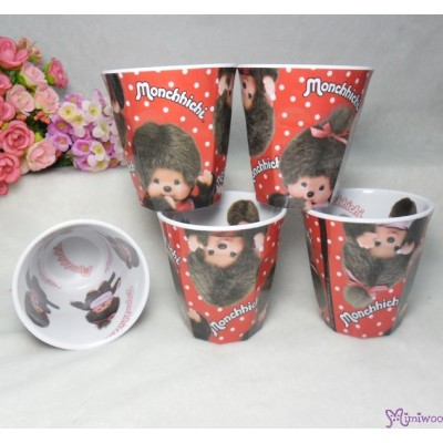 Monchhichi Hot Water Mug Resin Cup Boy & Girl 713141
