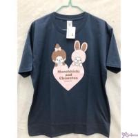 Monchhichi & Chimutan 100% Cotton Fashion Adult Tee Navy L Size 725099