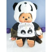 Monchhichi L Size 55cm MCC Tee and Panda Hat  759580