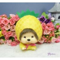 Big Head Monchhichi MCC Keychain Mascot - Flying Pineapple 760010