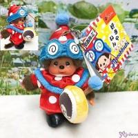 Monchhichi Mascot Kansai Limited Drum Phone Strap - Marching Band 778140