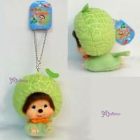 Big Head Monchhichi MCC Keychain Mascot - Flying Melon 780090