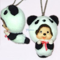 Monchhichi Tokyo Limited Big Head Flying Panda MCC with Keychain 780420