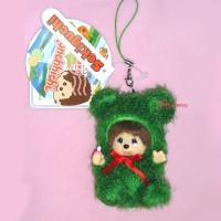 Monchhichi Hokkaido Limited MCC Mascot Keychain - Moko Moko Marimo 798220