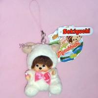 Monchhichi Hokkaido Limited MCC Mascot Keychain - Moko Moko Sheep 798240