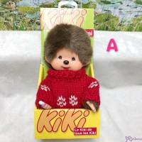 KiKi Monchhichi S Size Plush Red Knit Fashion Boy 929030-A