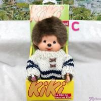 KiKi Monchhichi S Size Plush White Knit Fashion Boy 929030-C