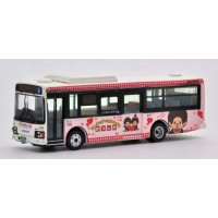 TOMYTEC Monchhichi Bus Collection 1/80 Diecast Car Keisei Town Bus  JH021