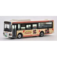TOMYTEC Monchhichi Bus Collection 1/80 Diecast Car Keisei Town Bus  JH022