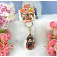 Monchhichi Tokyo Limted Mascot 5cm Metal Keychain - Kaminarimon MC002