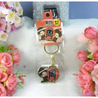 Monchhichi Tokyo Limted Mascot 3cm Metal Keychain - Kaminarimon MC003