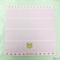 Monchhichi 75 x 34cm 100% Cotton Beach Bath Towel Heart ~ Made in Japan ~ MC009