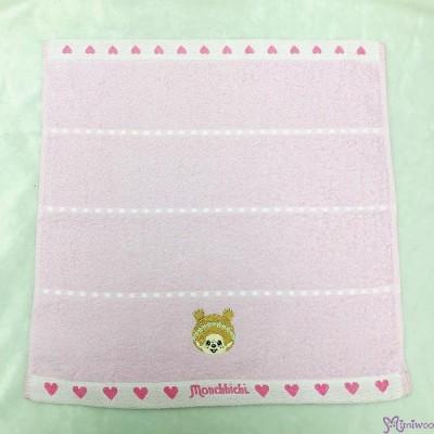 Monchhichi 75 x 34cm 100% Cotton Beach Bath Towel Heart ~ Made in Japan ~ MC009