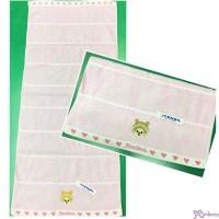 Monchhichi 78 x 34cm 100% Cotton Beach Bath Big Towel Heart ~ Made in Japan ~ MC010