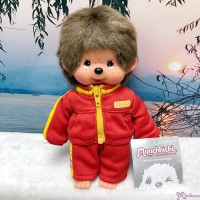 Monchhichi S Size Plush Sport Wear Fashion Boy Zipper Jacket & Pants MC011