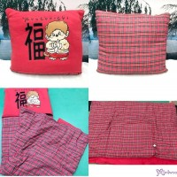 Monchhichi Chinese New Year 2 in 1 Cushion & Quilt ~ RARE ~ 250015