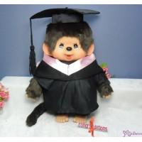 Monchhichi L Size Graduation Gown Pink + Hat with 40cm Premium MCC Boy 畢業 MCG