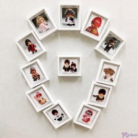 Monchhichi 6 x 5.2cm Magnet Photo Frame with Photo (Set of 12pcs) PL31-42
