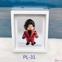 Monchhichi 6 x 5.2cm Magnet Photo Frame with Photo PL31