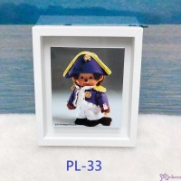 Monchhichi 6 x 5.2cm Magnet Photo Frame with Photo PL33