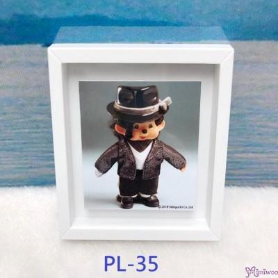 Monchhichi 6 x 5.2cm Magnet Photo Frame with Photo PL35