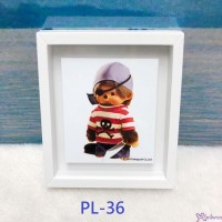 Monchhichi 6 x 5.2cm Magnet Photo Frame with Photo PL36
