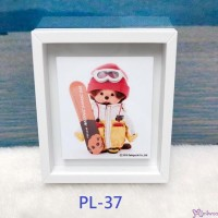 Monchhichi 6 x 5.2cm Magnet Photo Frame with Photo PL37