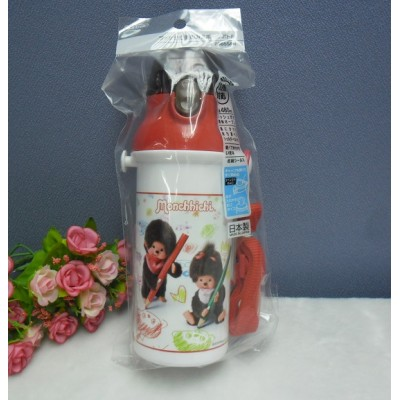 Monchhichi Water Bottle 480ml MCC Direct Drink Bottle with Cover PSB5SAN
