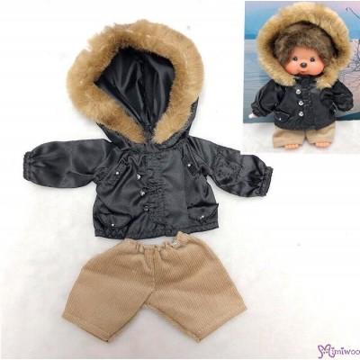 MCC S Size Fashion Outfit Fur Coat + Patns RT-44