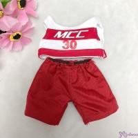 "Sekiguchi Monchhichi S Size Sport Fashion Racer Outfit Set RW-23 ""LAST ONE"""