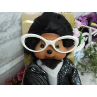 Monchhichi Glasses Frame White for S & M Size MCC RX001-WHE