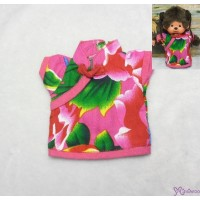 Monchhichi S Size Outfit Fashion Chinese Chi Pao Flower Dress Pink RX028