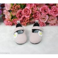 Monchhichi S Size Yo-SD 1/6 bjd Velvet Flower Mary Jane Shoes Brown SHU070PNK