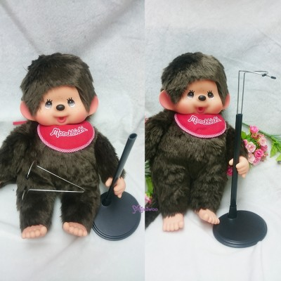 Monchhichi L Size MCC Plastic Base Doll Stand Holder TAX003BLK
