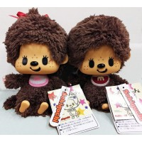 PansonWorks x Monchhichi Plush Boy & Girl ~ HONG KONG Limited ~ PANSet